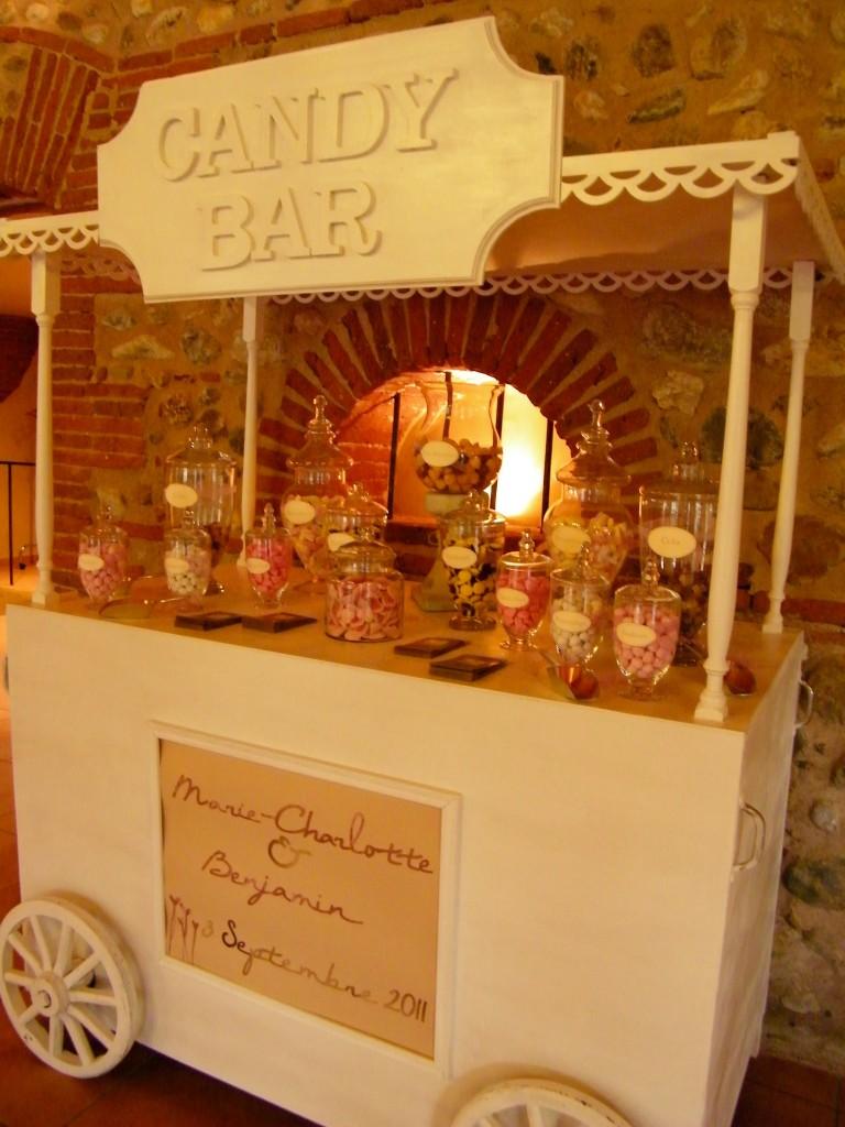 candy bar pour mariage