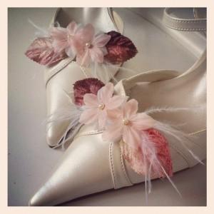 clips à chaussures mariée bohème Eugénie