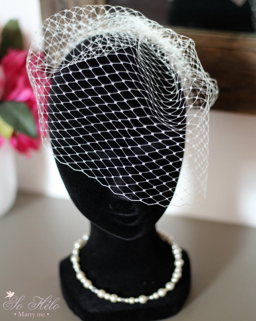 voilette amovible pour marie - Bibi Mariage Voilette