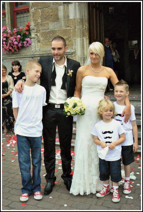 photo famille mariage rétro