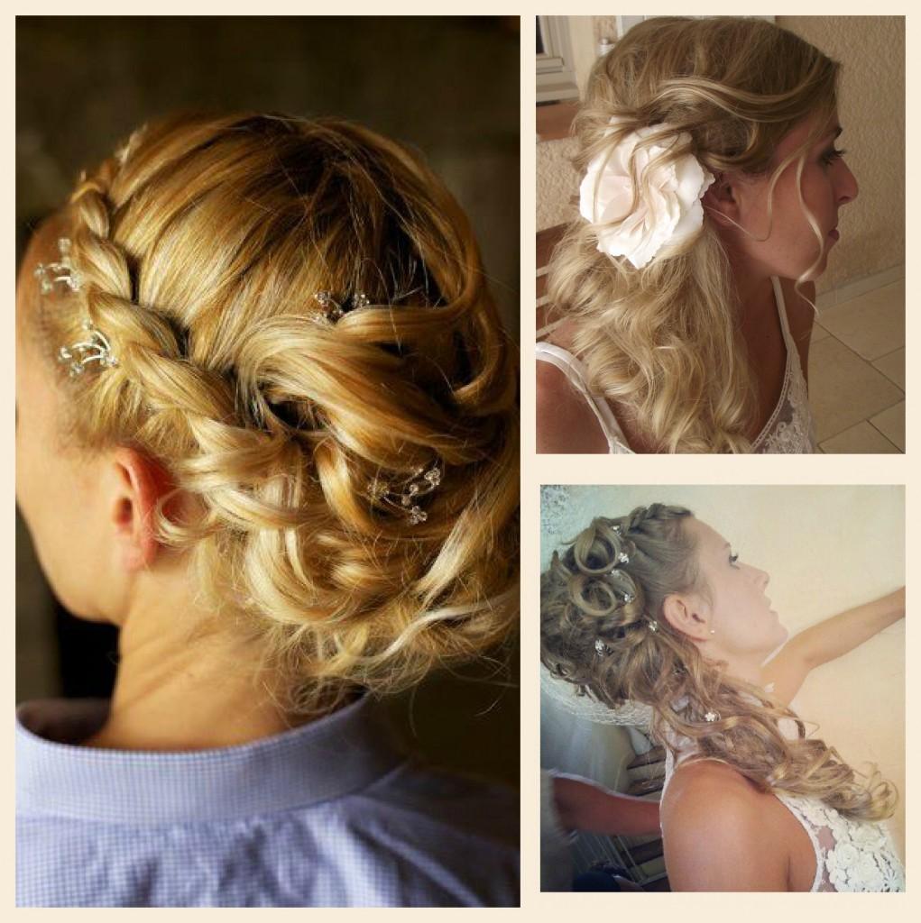 Coiffure mariée bohème cheveux long
