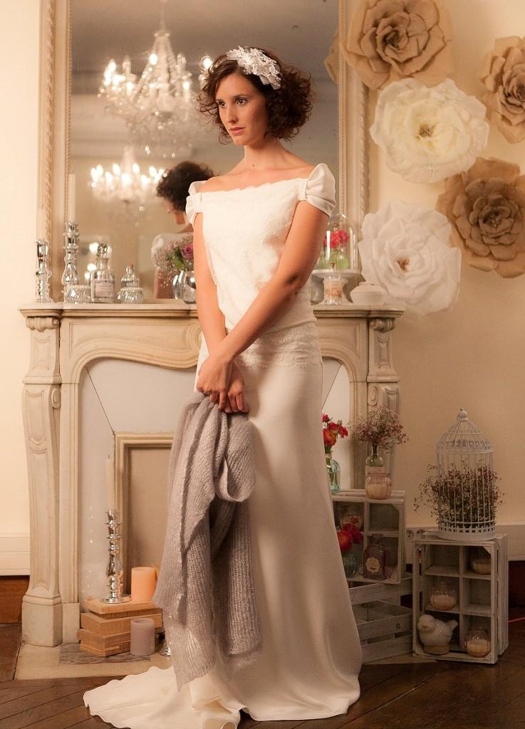 Toles mari e le blog d 39 h lo se bijoux de mari e - Etole mariage hiver ...