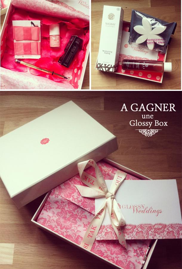 Exceptionnel La Glossy Box édition mariage {coup de coeur et concours inside  UX29