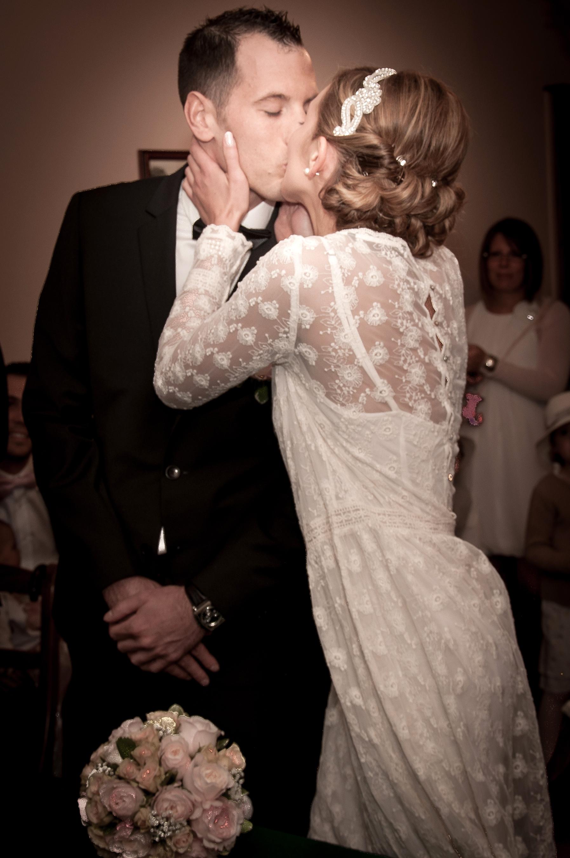 mairie mariage rétro Julie