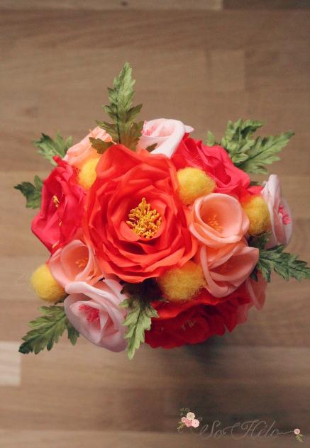 un bouquet de mari e ternel en fleurs de soie le blog d 39 h lo se bijoux de mari e conseils. Black Bedroom Furniture Sets. Home Design Ideas