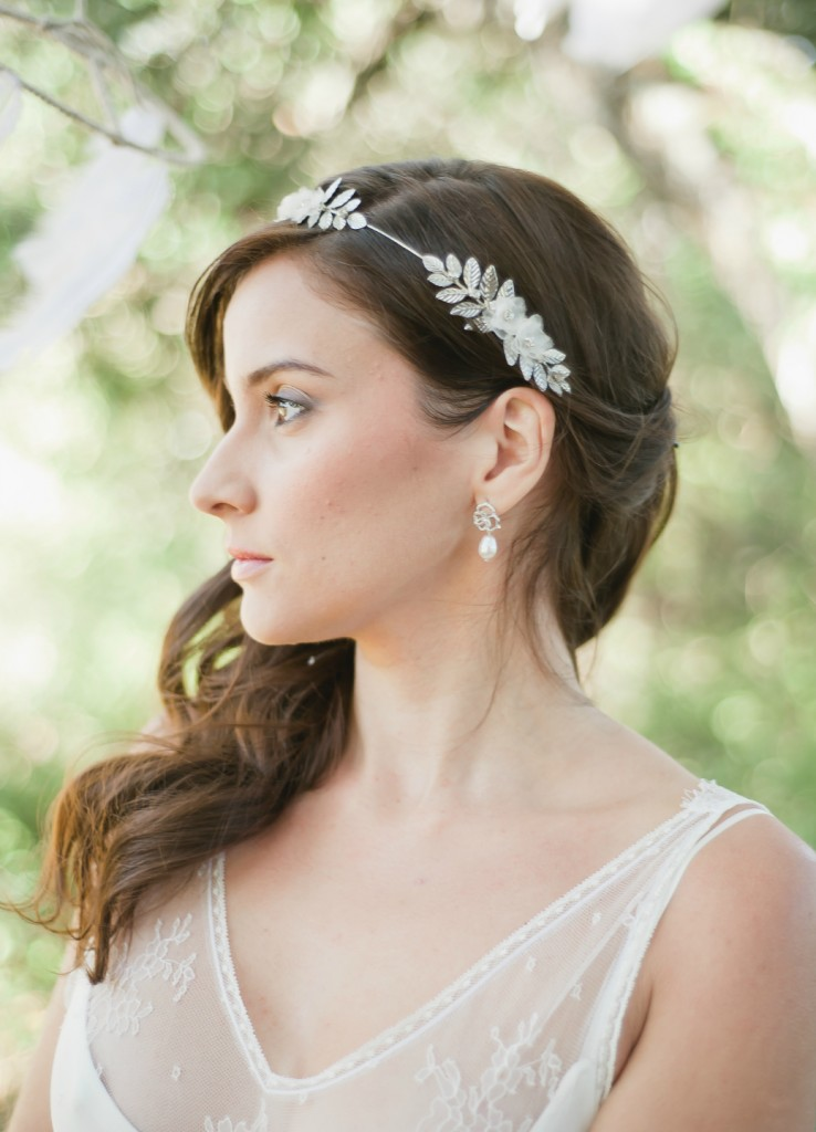 olivia couronne headband mariage feuilles style laurier esprit d esse grecque le blog d. Black Bedroom Furniture Sets. Home Design Ideas