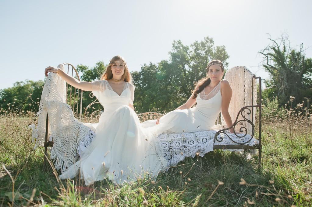 robes de mariée bijoux et accessoires bohème mariage So Hélo photographie Cécile Creiche