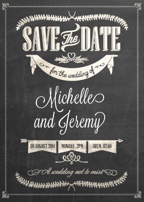 Save the date | Le blog d'Héloïse – Bijoux de mariée ...