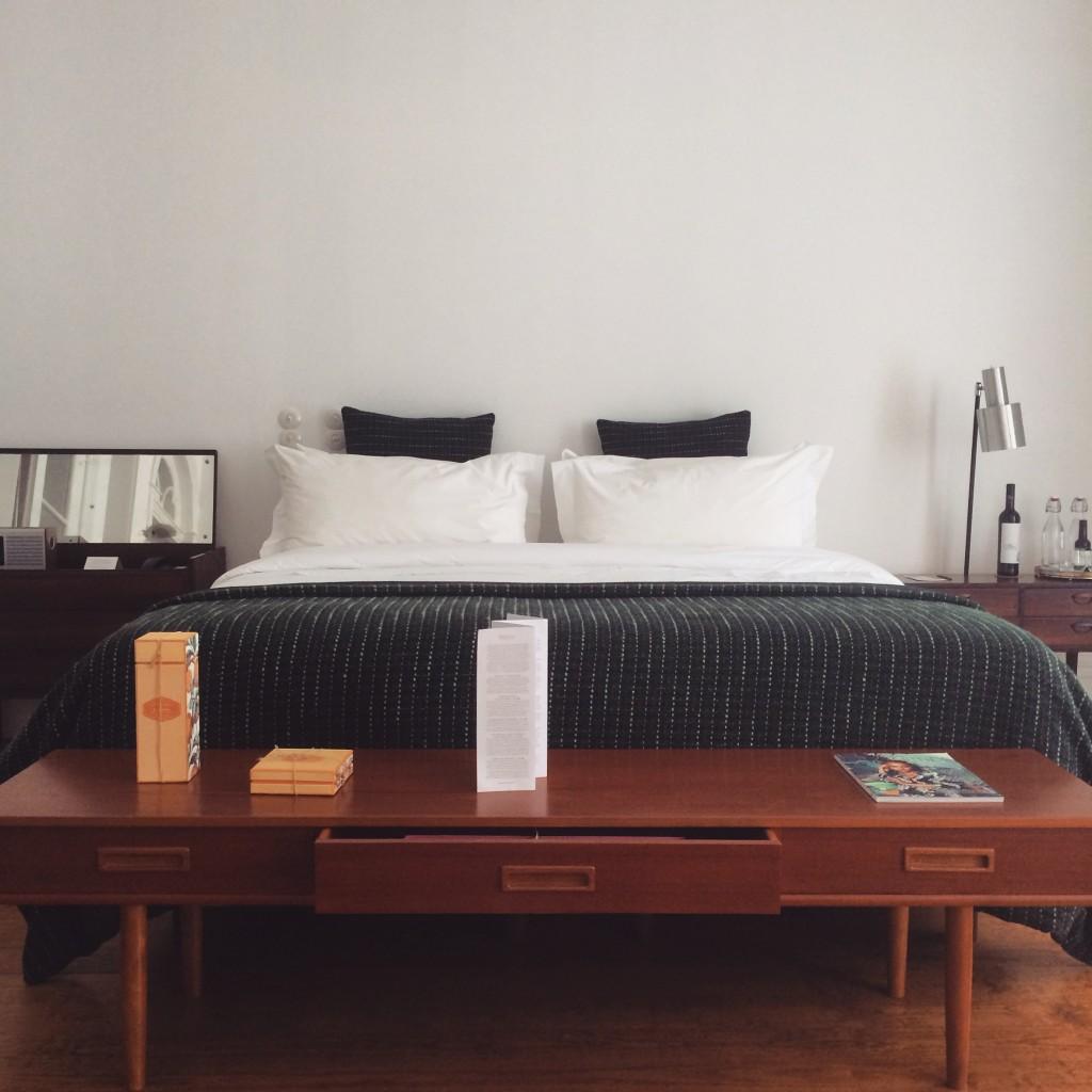 lit suite hôtel Rosa Et Al Townhouse Porto-Portugal
