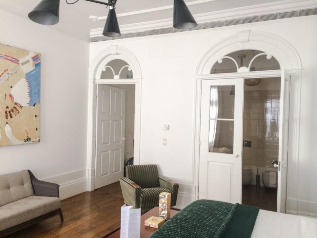 détail suite hôtel Rosa Et Al Townhouse Porto-Portugal