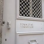 porte entrée hotel hôtel Rosa Et Al Townhouse Porto-Portugal