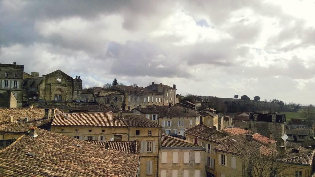 vielle ville Saint EMilion Gironde France
