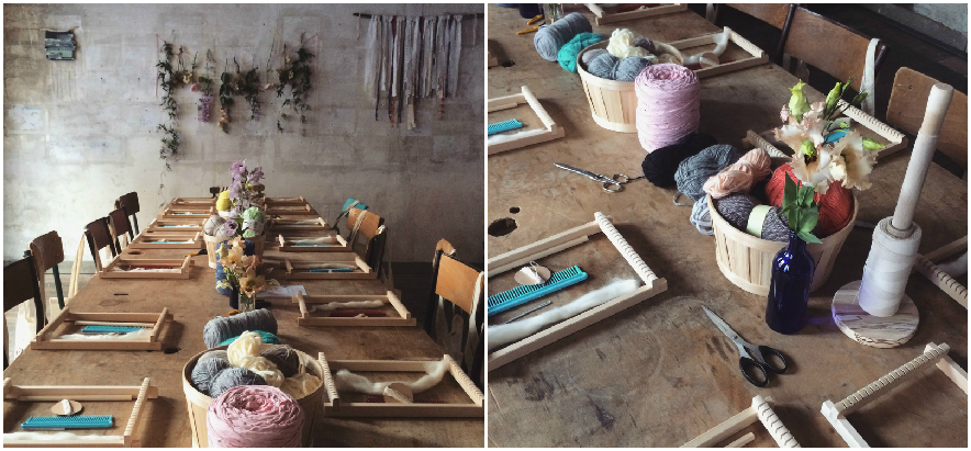 atelier tissage juliedesboisjolie