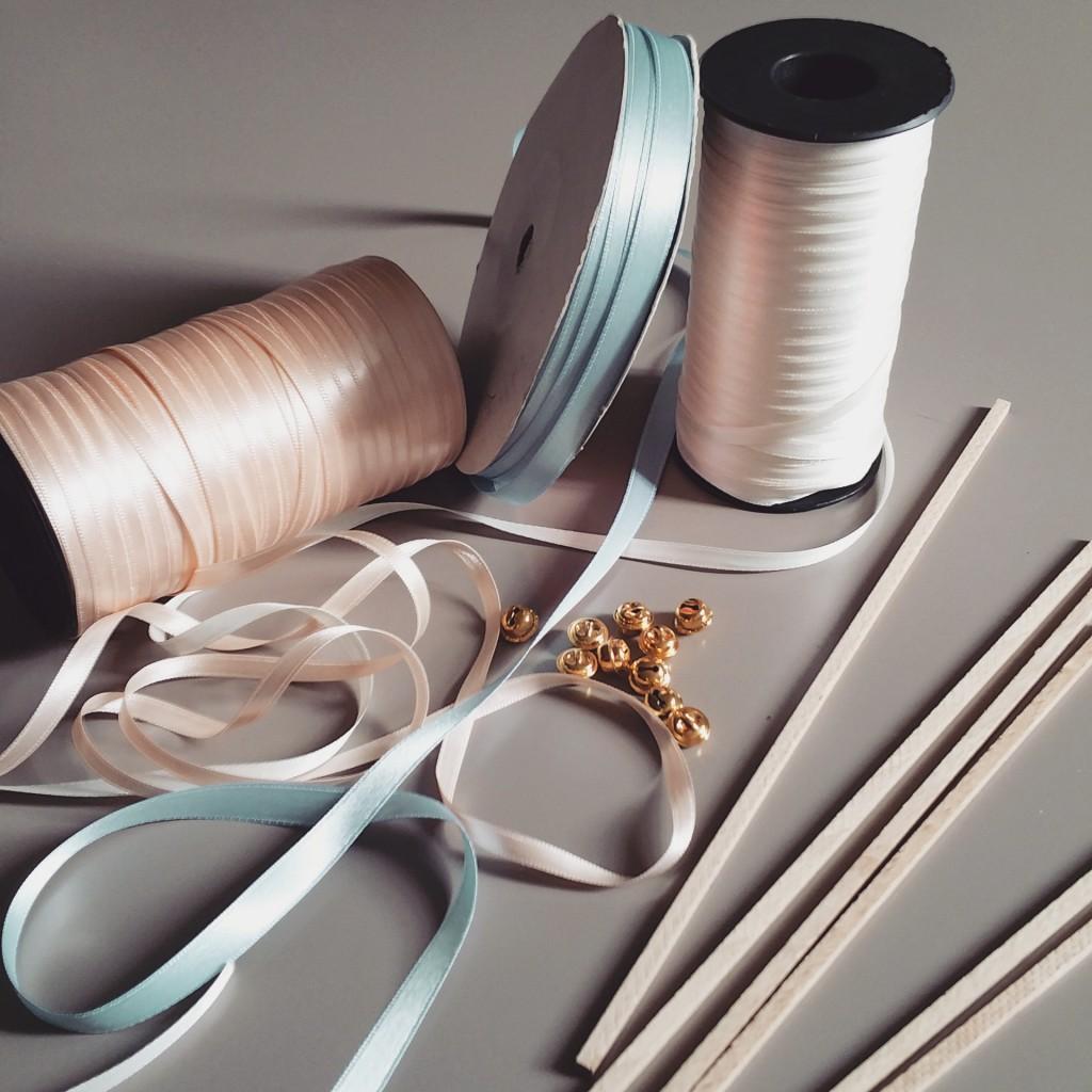 fournitures pour baton-rubans cérémonie mariage
