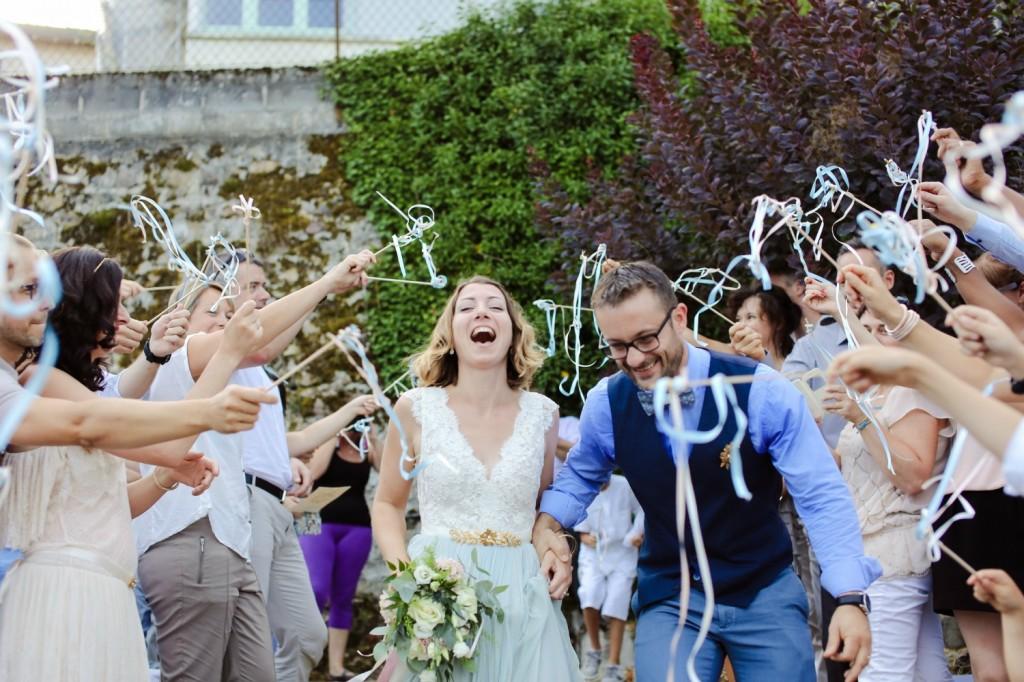 rubans de sortie cérémonie laïque mariage