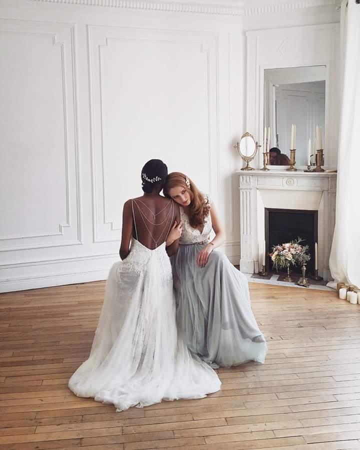 coulisse nouvelle collection 2016 - robe confidentiel Création