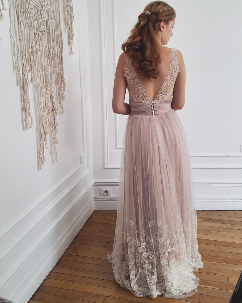 coulisse nouvelle collection So Hélo 2016 - robe confidentiel Création
