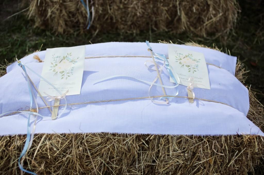 livret cérémonie DIY mariage rustique champêtre
