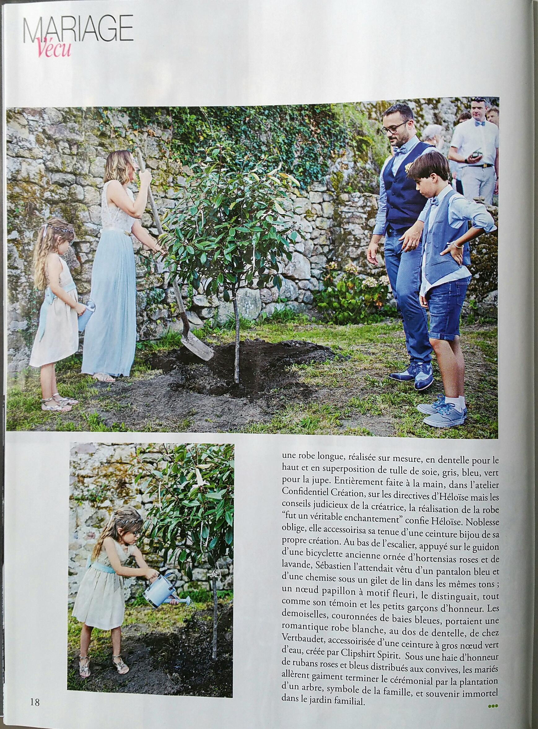 cérémonie laïque jardin