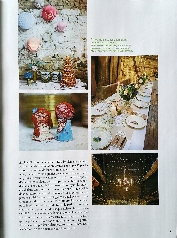 renouvellement voeux mariage décoration rustique grange