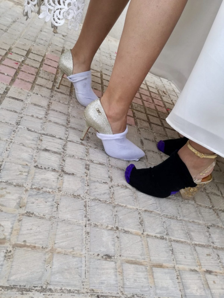 astuce chaussures talon mariage