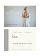 Bon cadeau bijou et accessoire mariage valeur 100 euros