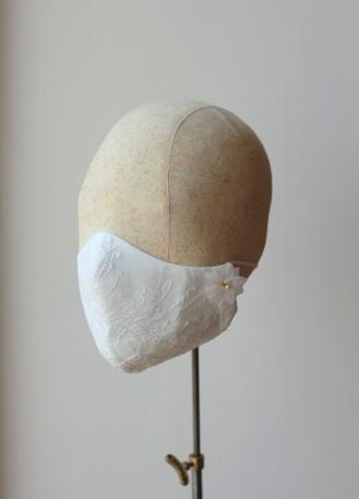 Masque protection dentelle originale pour mariage