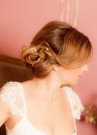 """Lot de 5 Pics à chignon """"Perles"""" pour votre chignon de mariée"""