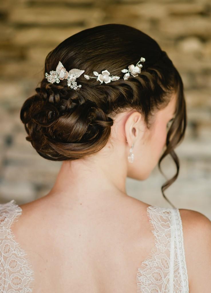 Accessoires coiffure mariage boheme