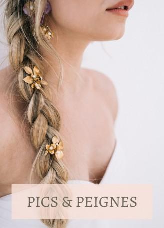 nouvelle arrivee moitié prix gamme complète d'articles peigne mariée fleuri, ornement à cheveux avec strass et ...