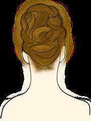 chignon mariée moderne coiffure mariage
