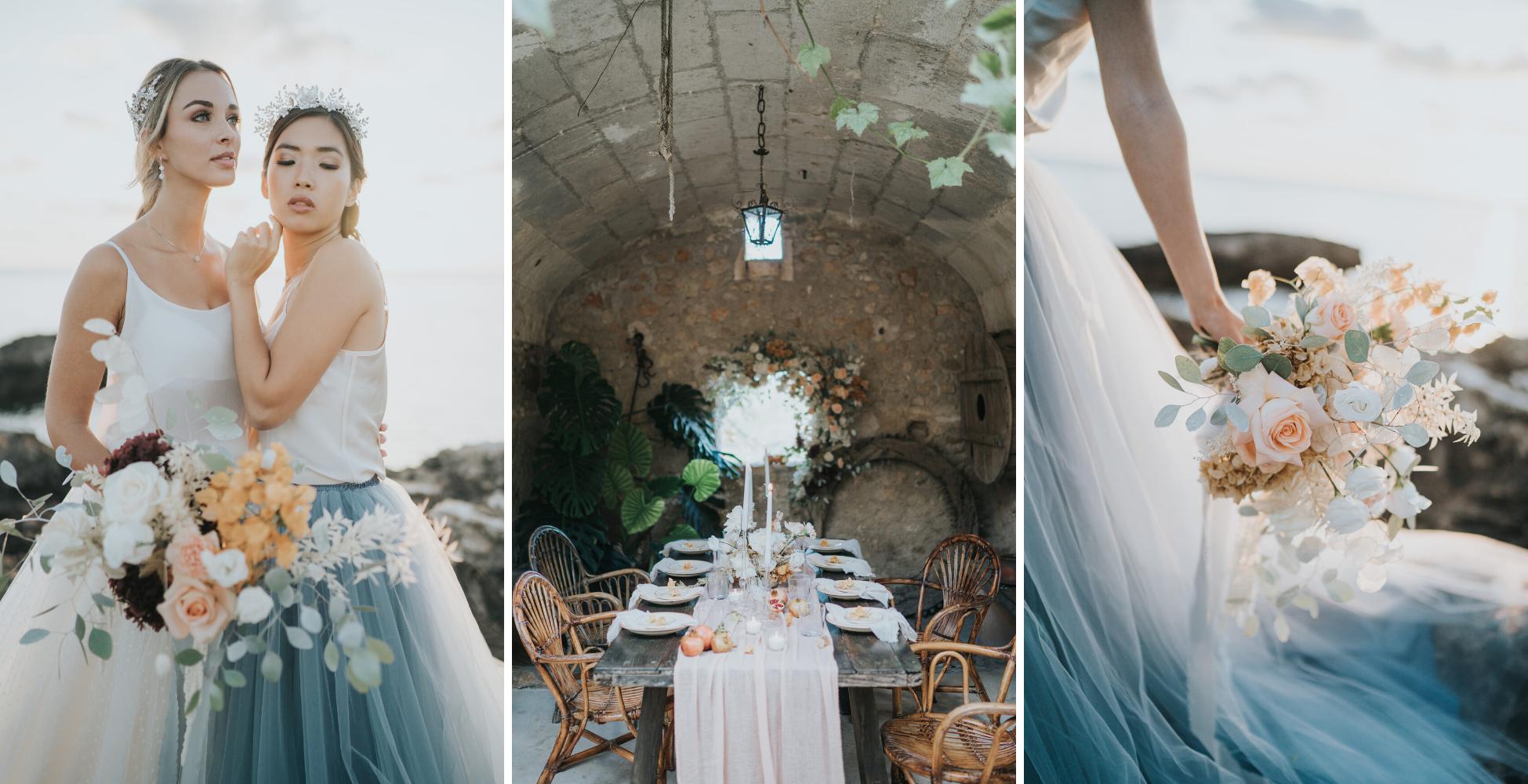 partenaires professionnels mariage fleurs photographes