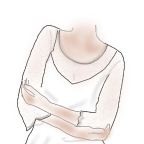 decollete rond robe de mariée accessoires mariage