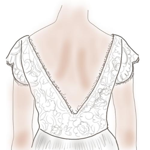 conseil robes de mariée dos nu classique